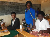 Dressmaking at Rugendabari