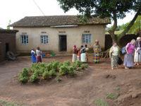 Pastor's house at Rugobagoba