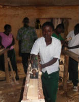 Carpentry at Rugendabari