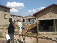 Building works continue at Shyogwe