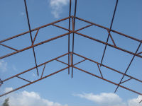 Roof supports - panels urgently required