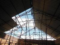 Roof panels for Kavumu chapel