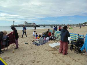 Bournemouth 2016 - beach shot