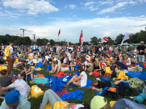 World Youth Day 2016 at Blony Park