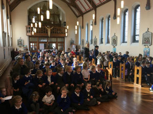 Ash Wednesday with Primary School