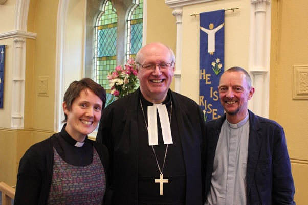 Revs Jo Rand, Richard Teal & Tim Cooke