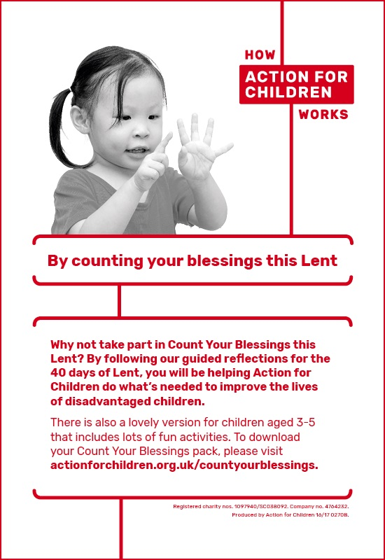 Action for Children Lent 2017