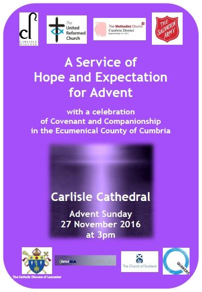Advent Service 27 November 2016