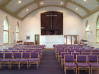 Whalley interior from front