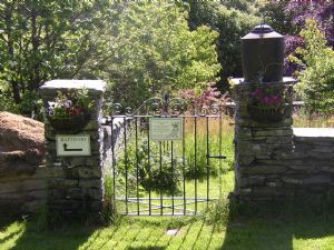 Gate to graveyard
