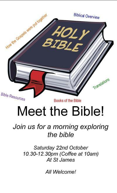 Bible Training 22 Oct 10am