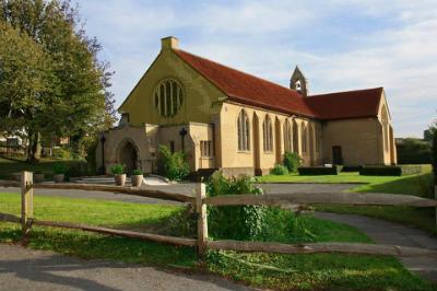 Church in the sunshine