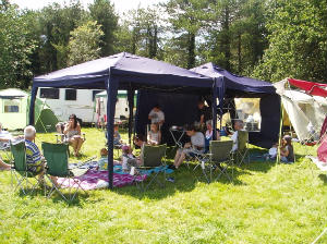 St Matthews Gazebo at New Wine July 2011