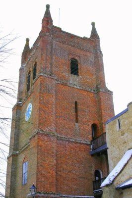 All Saints Bell Tower from north door