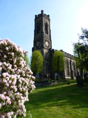 St Peter's in Spring