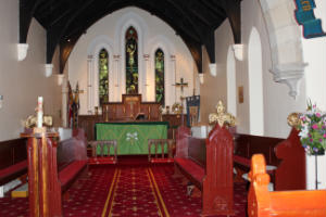 The Chancel of St Peters Church