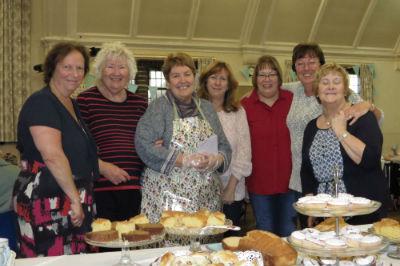 Charity Coffee Fundraiser team