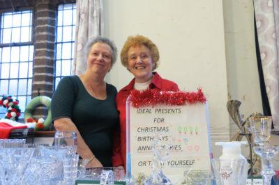 Christmas Fair Glass & Crystal Stall