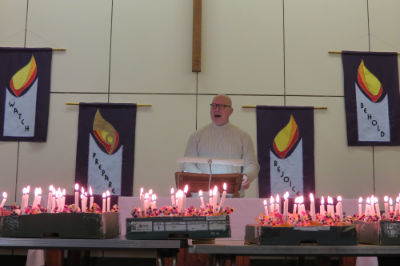 Welcome to Christingle from Tim