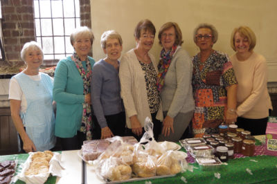 The Macmillan team ready for action