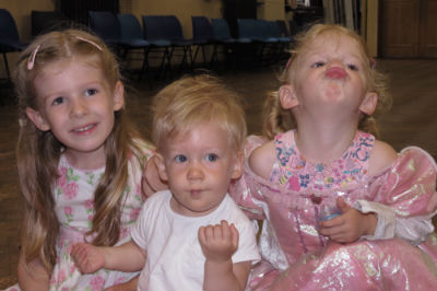 Three Happy Little Sisters (with permission)