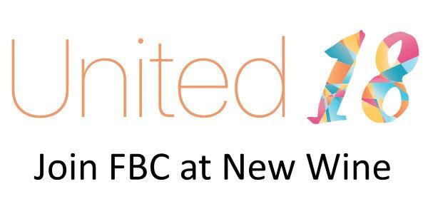 New Wine United 2018 Headline