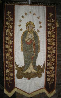 Blessed Virgin banner