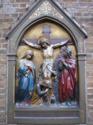 Station  Jesus dies upon the Cross