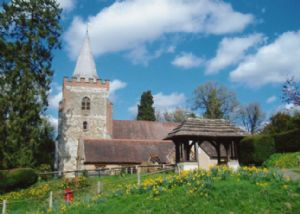 Nutfield Church Spring