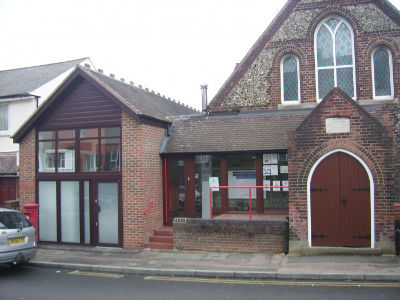Borstal Baptist Church new front