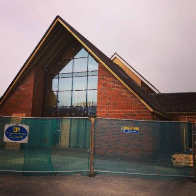 Opengate Bognor Regis Baptist Church almos completed extension