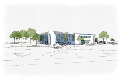 New Life Church, Durrington - latest design for the new church buliding