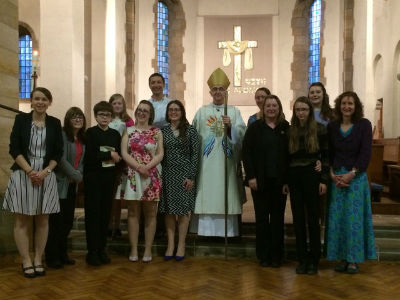 Confirmation service at Millhouses