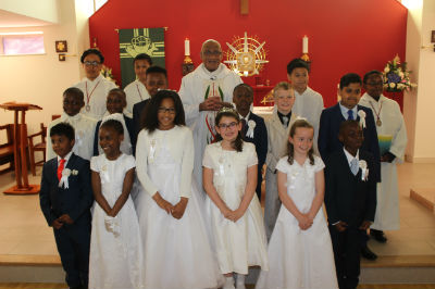 First Holy Communion Group 2016