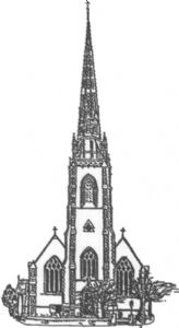 Stapleton Church Line Drawing