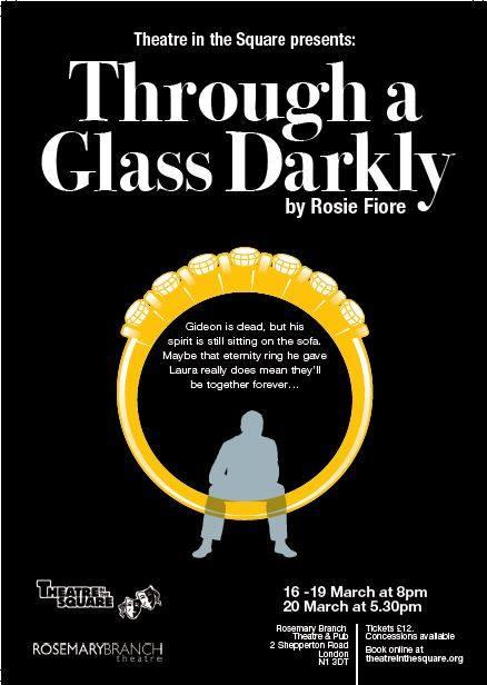 Glass darkly poster