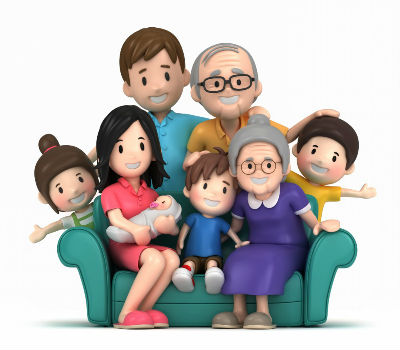 young families service