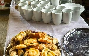 Cafe Church Table