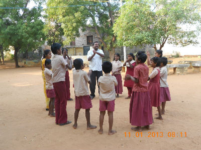 Children at Karur