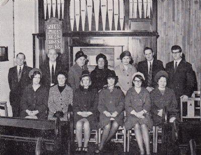 Choir (Circa 1967)