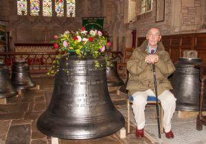 Blockley's centenarian sponsor of the recast tenor bell