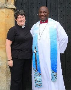 Bishop Jacob  Rev. Canon Dana Delap
