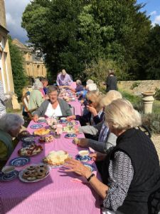 Tea & Cakes on the vicarage terrace