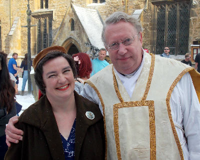 Father Brown with his Extra - Dana