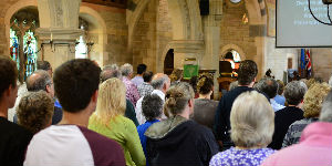 August 15 worship in all hallows