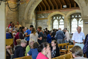 August 2015 coffee in all hallows