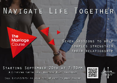 marriage course flyer 2017