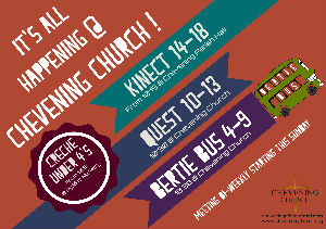 Kids Ministry Flyer