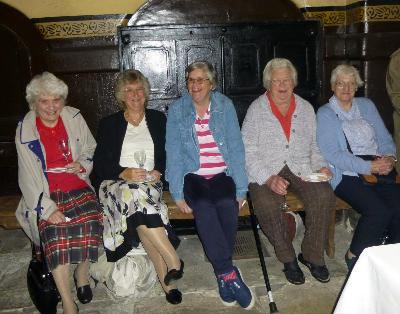 Ladies enjoying the Brewhouse