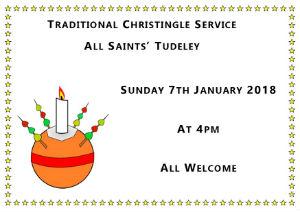 Christingle Advert 7th January 2017 4pm All Saints